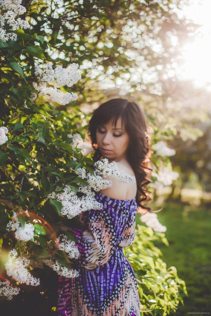 Романтичная Светлана — Индивидуальная фотосессия