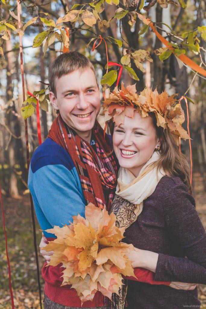 Митя и Марите — Семейная фотосессия