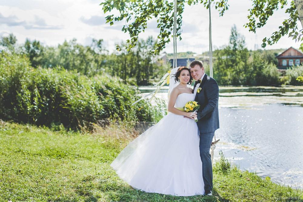 Юля и Сережа — Свадебная фотосессия