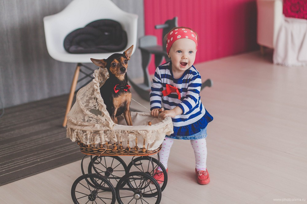 Вера и Сергей с дочкой Полиной — Семейная фотосессия