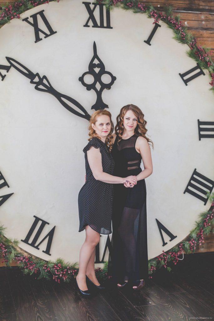 Натали с мамой — Семейная фотосессия