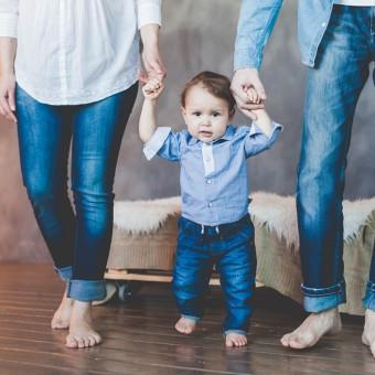 Ирина и Алексей с сыном