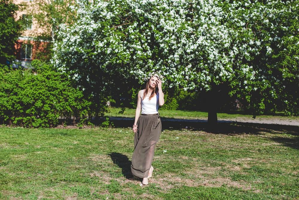 Анна — Индивидуальная фотосессия