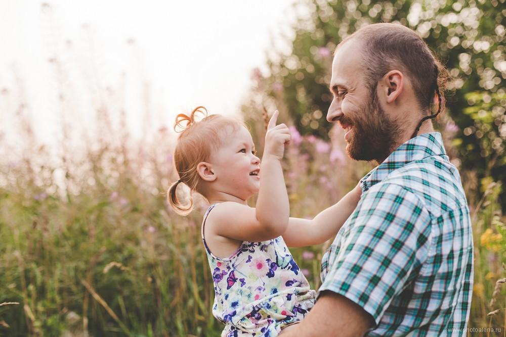 Лиля и Дмитрий с дочкой Василисой — Семейная фотосессия