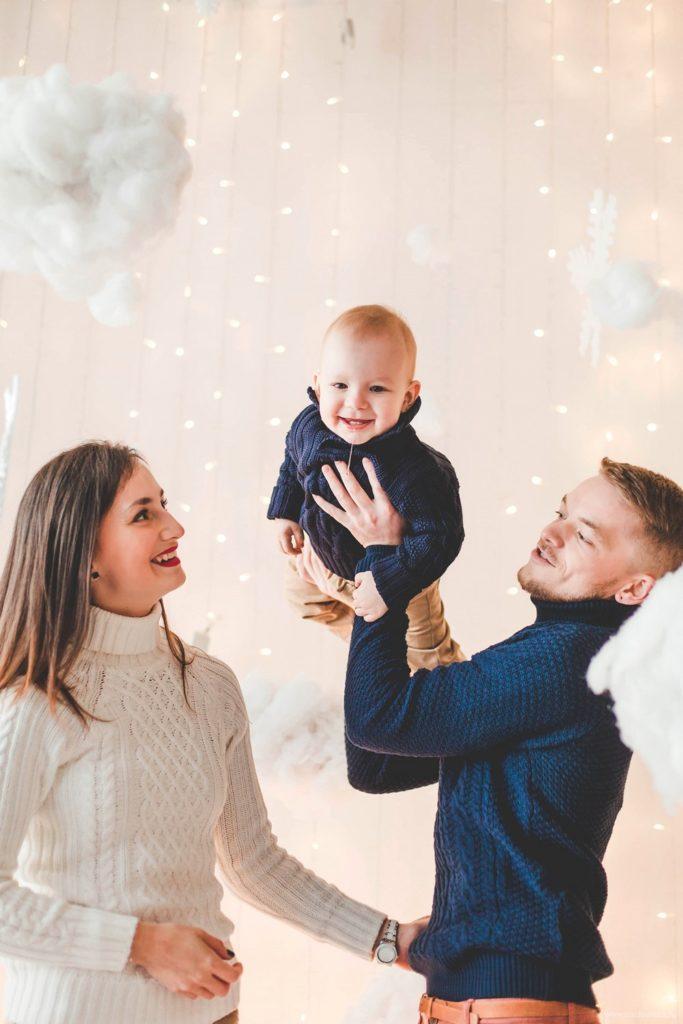 Таня и Рома с сыном Семейная фотосессия