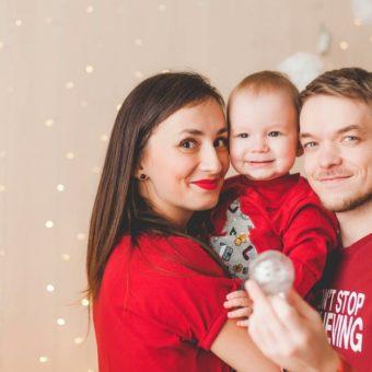 Таня и Рома с сыном