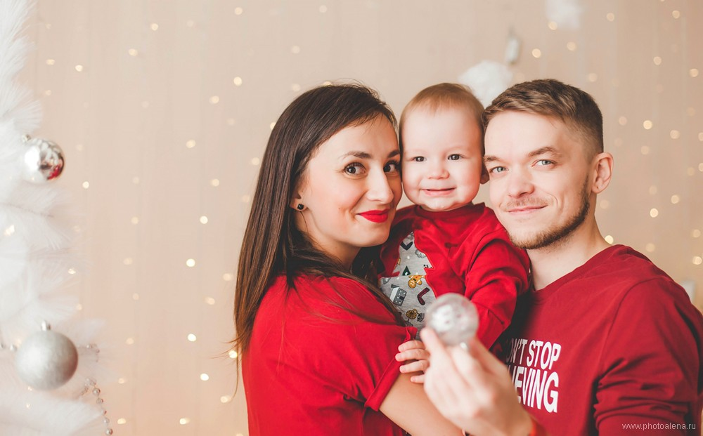 Таня и Рома с сыном — Семейная фотосессия
