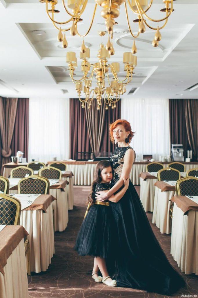 Мама и дочка — Семейная фотосессия